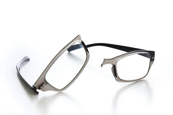 Ersatzbrille - Soetwas wie auf diesem Bild kann jedem passieren und dann ist guter Rat oft sehr teuer.